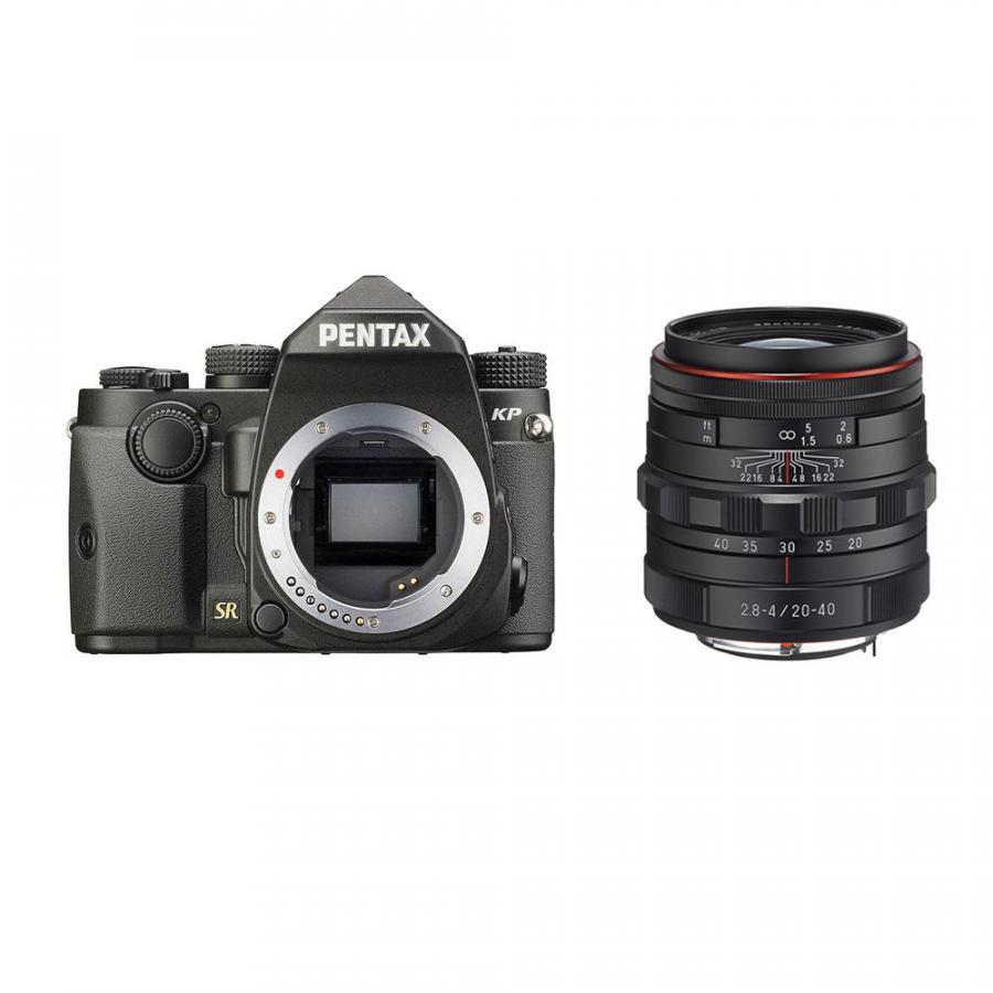 Pentax KP + Pentax DA 20-40mm F2.8-4 ED DC WR, Čierne