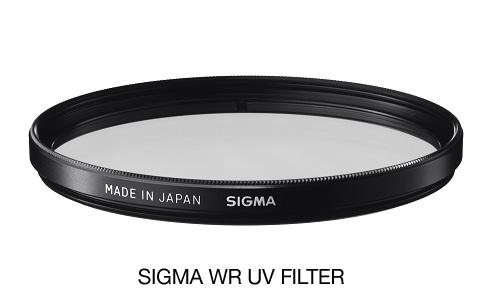 SIGMA UV 105mm WR, UV filtr, špeciálna vrstva odpudzujúca vodu