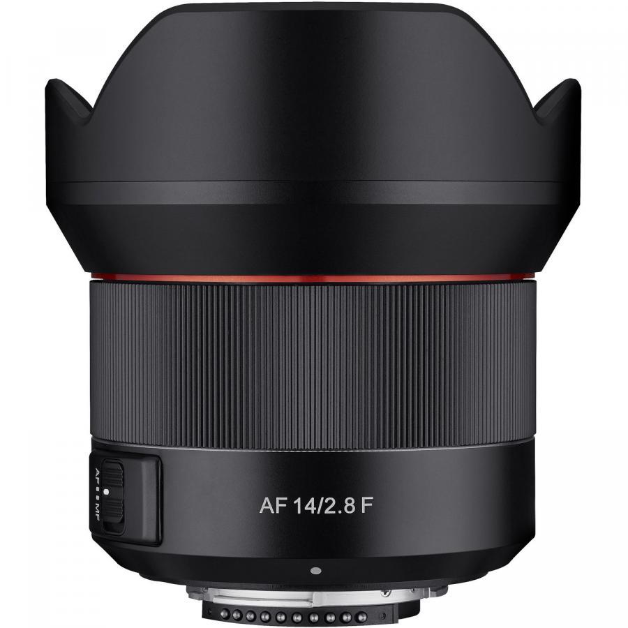Samyang AF 14mm f/2,8 baj. Canon EF