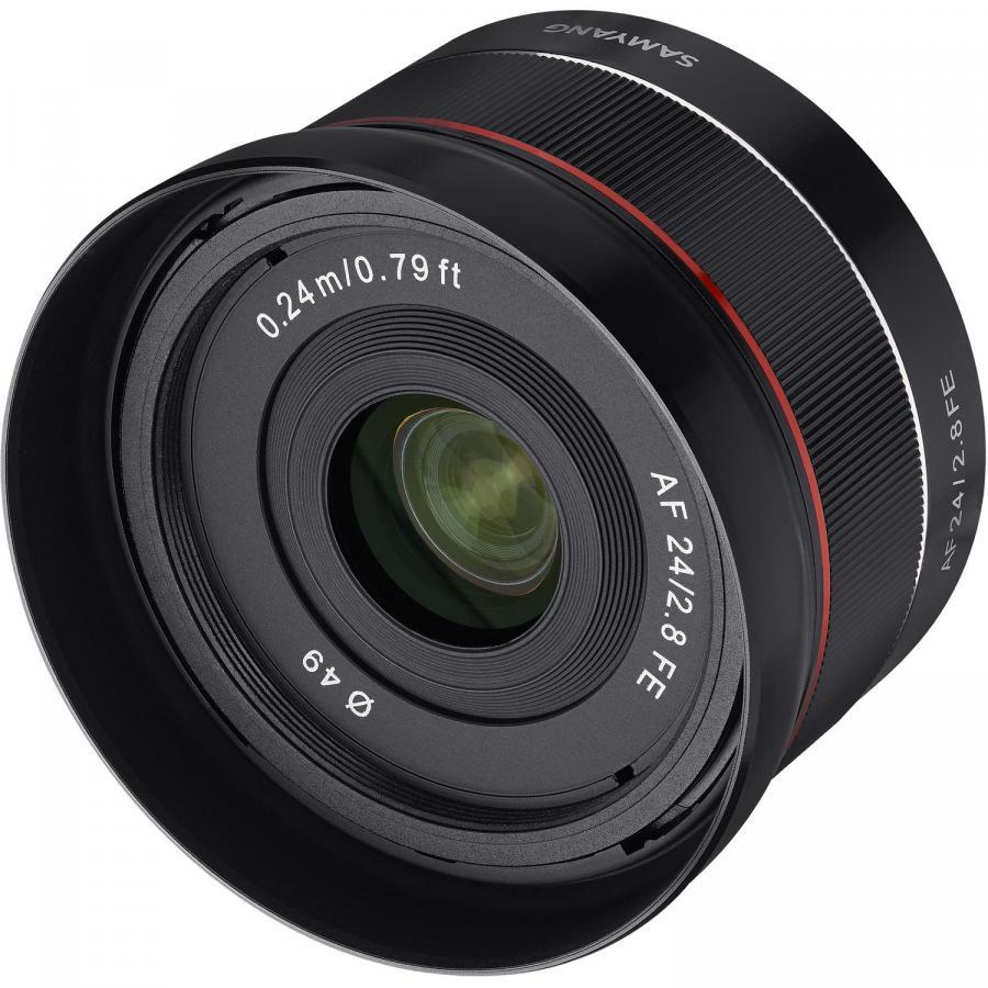 Samyang AF 24mm f/2,8 baj. Sony E pre Sony FE