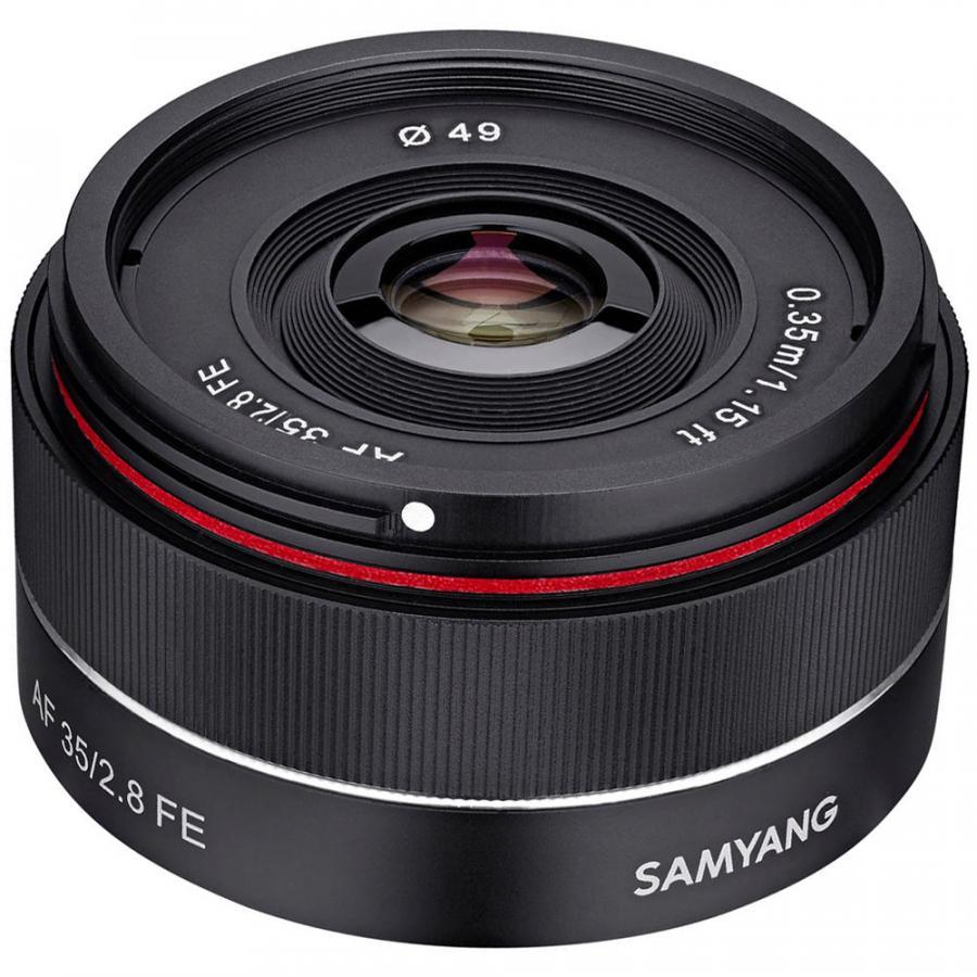 Samyang AF 35mm f/2.8 FE, baj. Sony E pre Sony EF