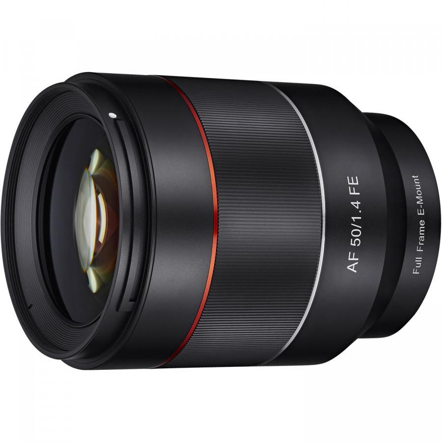 Samyang AF 50mm f/1.4 FE baj. Sony E pre Sony FE