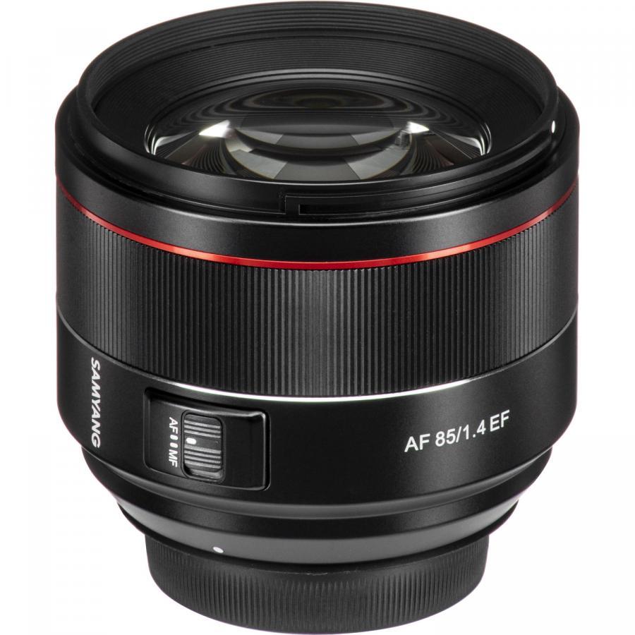 Samyang AF 85mm f/1.4 baj. Canon EF