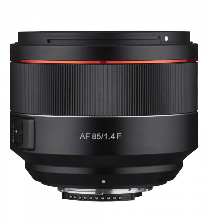 Samyang AF 85mm f/1.4 baj. Nikon F