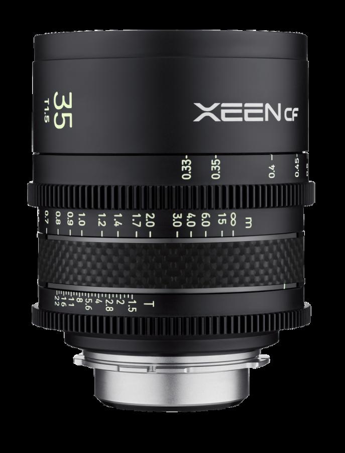 Samyang XEEN CF 35mm T1.5 baj. Canon EF