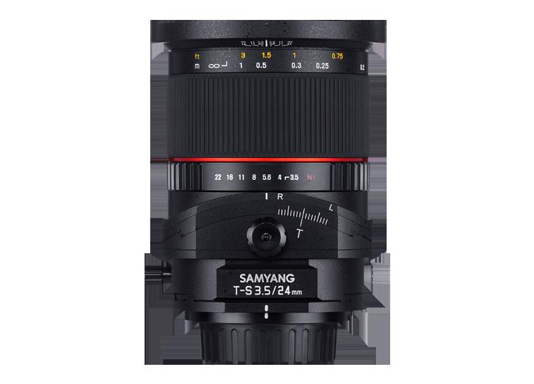 Samyang T-S 24mm f/3.5 ED AS UMC Tilt-shift, baj. Nikon