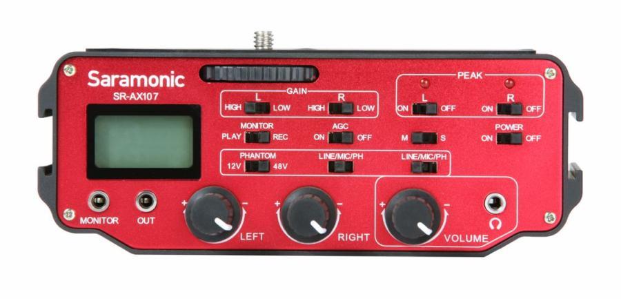 Saramonic SR-AX107 audio adaptér mixer