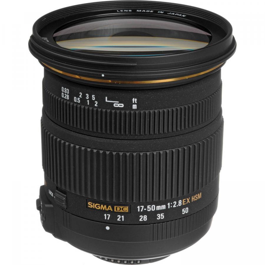 Sigma 17-50mm f/2,8 DC OS HSM, baj. Canon