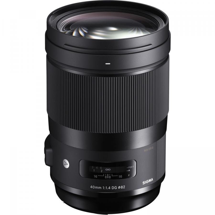 Sigma 40mm f/1,4 DG HSM Art baj. Sony E-mount