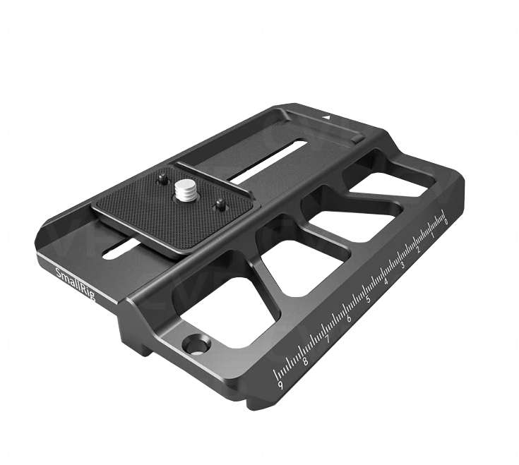 SmallRig 2327 Offset Plate for BMPCC4K with Ronin S BSS