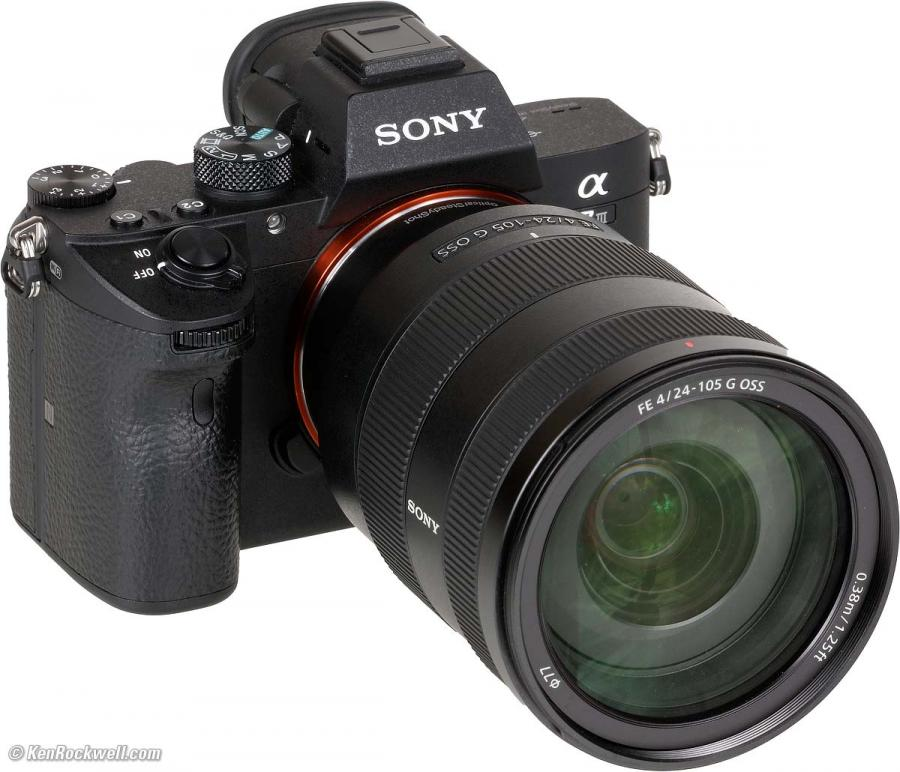Sony Alpha A7R Mk.III + Sony FE 24-105mm f/4 G OSS