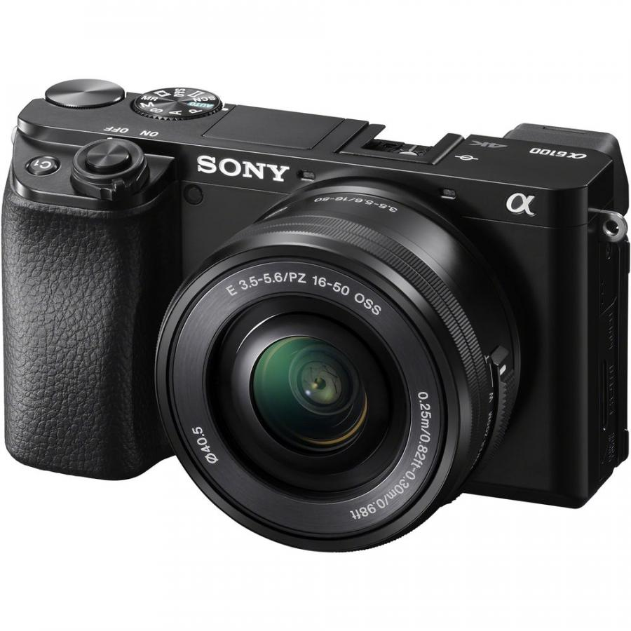 Sony Alpha A6100 + Sony E 16-50mm f/3,5-5,6 PZ OSS