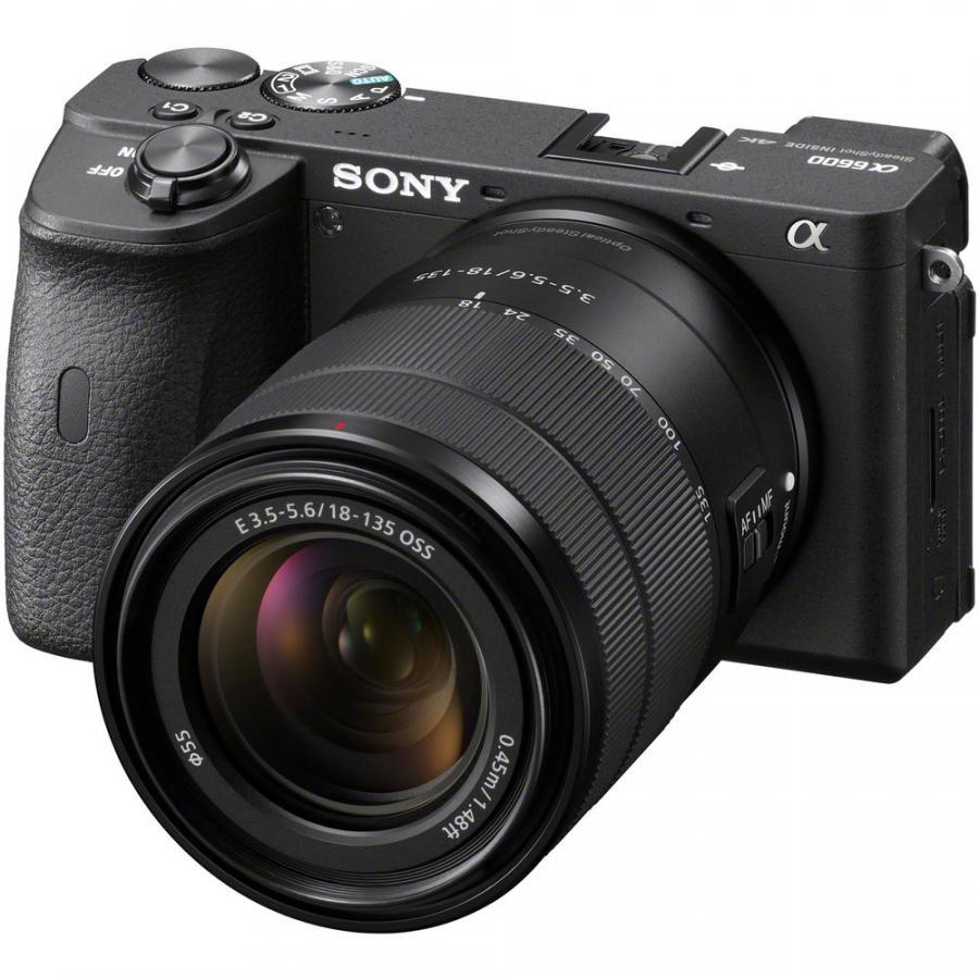 Sony Alpha A6600 + Sony E 18-135mm f/3,5-5,6 OSS CASHBACK 150 €