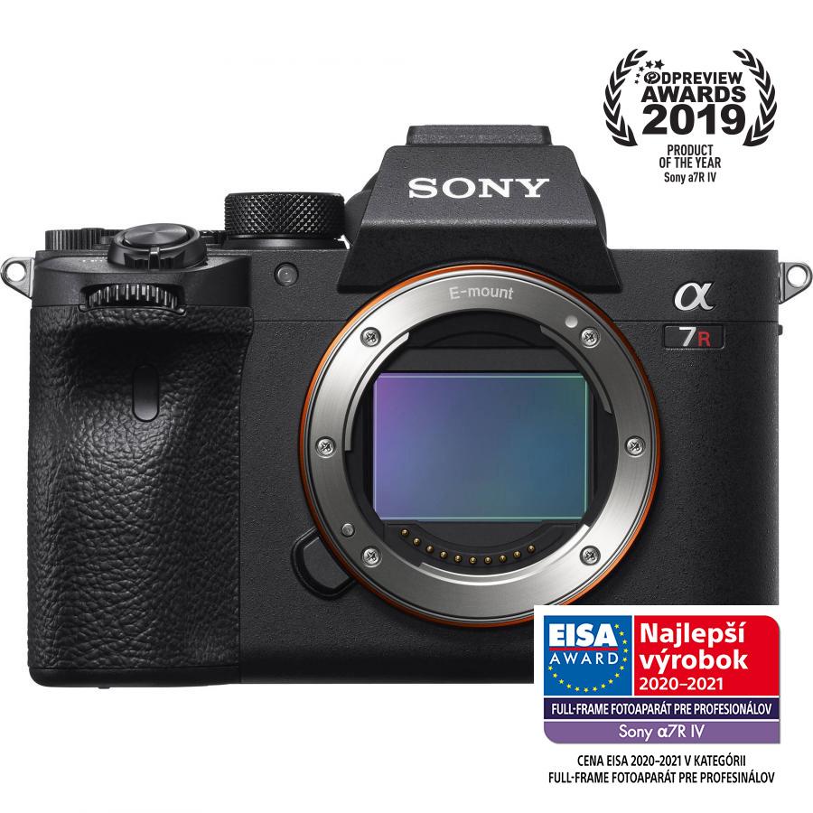 Sony Alpha A7R Mk.IV - Telo - Výkupový bonus 300 €