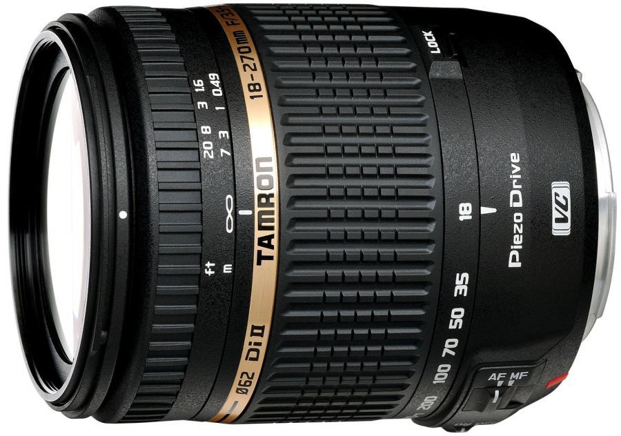 Tamron AF 18-270mm f/3.5-6.3 Di II VC PZD, baj. Nikon