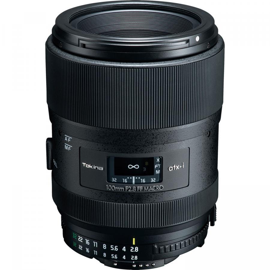 Tokina atx-i 100mm f/2.8 FF Macro baj. Nikon F