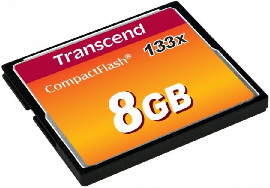 Transcend CF CompactFlash 8GB 133x