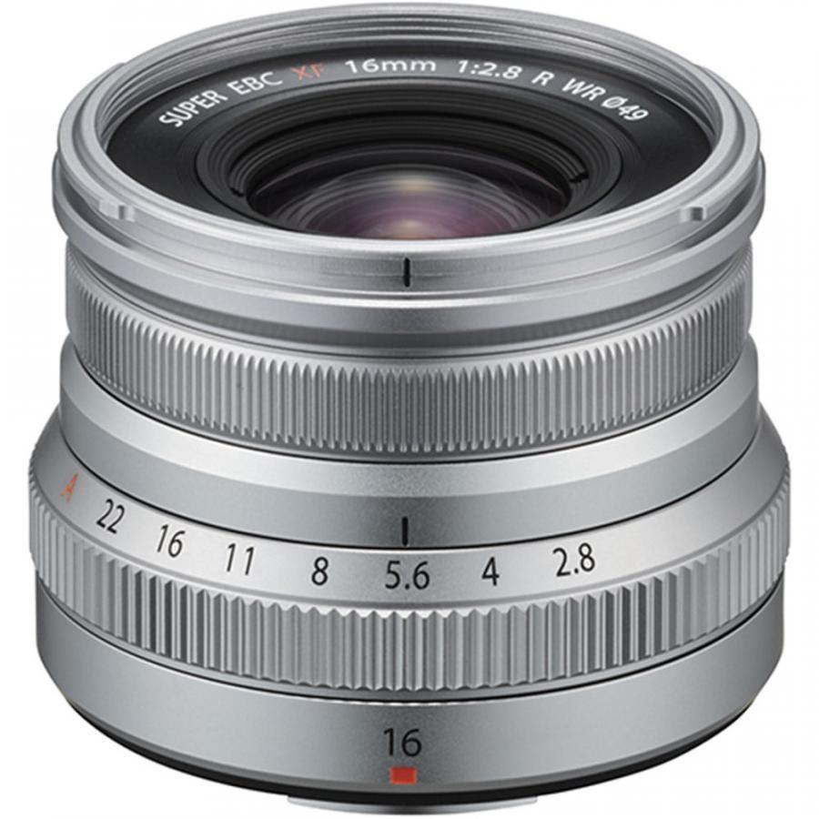 Fujifilm Fujinon XF 16mm f/2.8 R WR strieborný