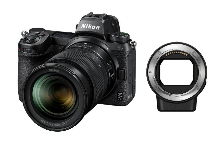 Nikon Z7 ll + Nikkor Z 24-70mm f/4 S + FTZ adaptér