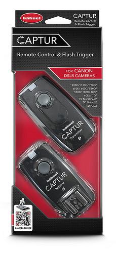 Hähnel CAPTUR Remote Canon - diaľková spúšť DSLR + diaľková spúšť blesku Canon