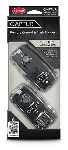 Hähnel CAPTUR Remote Nikon - diaľková spúšť DSLR + diaľková spúšť blesku Nikon