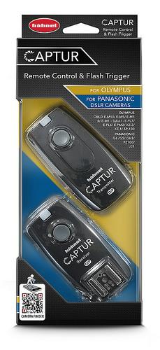 Hähnel CAPTUR Remote Olympus/Panasonic - diaľková spúšť DSLR + diaľková spúšť blesku