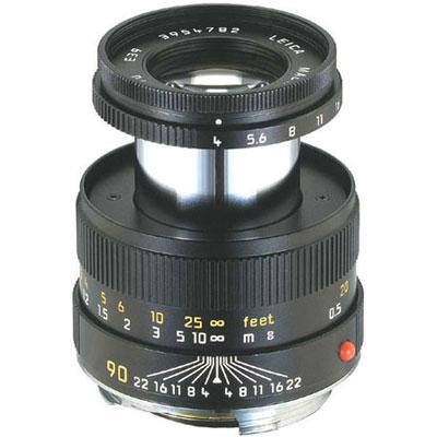 Leica MACRO-ELMAR-M 90mm f/4.0, Čierny