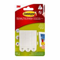 3M Command Hanging Strips White Small set/4