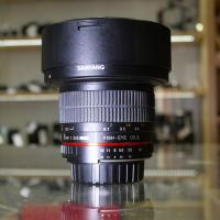 Samyang 8mm f/3.5 IF UMC Aspherical CSII DH Fisheye, baj. Nikon DX