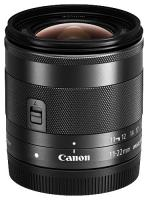 Canon EF-M 11-22mm f/4-5.6 IS STM, Čierny  CASHBACK 30 €