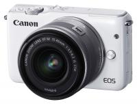 Canon EOS M10 + EF-M 15-45mm f/3.5-6.3 IS STM, Biely kit