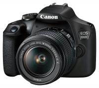 Canon EOS 2000D + EF-S 18-55mm f/3.5-5.6 IS II  CASHBACK 50 €
