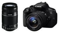 Canon EOS 700D + EF-S 18-55mm f/3.5-5.6 IS STM + EF-S 55-250mm f/4-5.6 IS STM