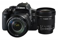 Canon EOS 750D + EF-S 18-135mm IS STM  + EF-S 10-18mm IS STM + CASHBACK 50€!