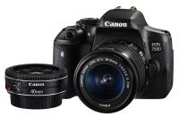 Canon EOS 750D + EF-S 18-55mm f/3.5-5.6 IS STM + EF 40mm f/2.8 STM
