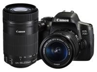 Canon EOS 750D + EF-S 18-55mm f/3.5-5.6 IS STM + EF-S 55-250mm f/4-5.6 IS STM