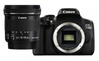 Canon EOS 750D + EF-S 10-18mm f/4.5-5.6 IS STM + CASHBACK 50€!