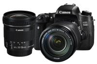 Canon EOS 760D + EF-S 18-135mm f/3.5-5.6 IS STM + EF-S 10-18mm IS STM