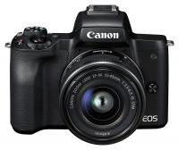 Canon EOS M50 + EF-M 15-45mm f/3.5-6.3 IS STM čierny  CASHBACK 50 €