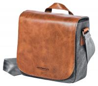 4c18912c40 Olympus OM-D Messenger Bag Mini - Prémiová kožená ramenná brašna