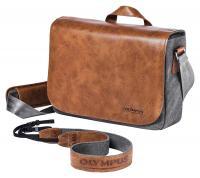 31bab2ace9 Olympus OM-D Messenger Bag - Prémiová kožená ramenná brašna