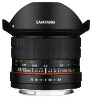 Samyang 12mm f/2.8 ED AS NCS Fisheye, baj. Canon EF