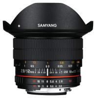 Samyang 12mm f/2.8 ED AS NCS Fisheye, baj. Nikon FX