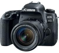 Canon EOS 77D + EF-S 18-55mm f/4-5.6 IS STM  CASHBACK 100 €