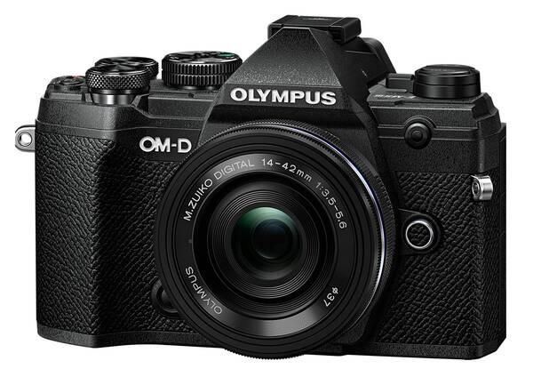 Olympus OM-D E-M5 Mk.III +14-42mm Pancake kit čierny
