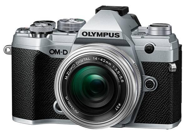 Olympus OM-D E-M5 Mk.III +14-42mm Pancake kit strieborný