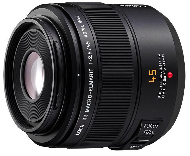 Panasonic Leica DG MACRO-ELMARIT 45mm f/2.8 ASPH MEGA O.I.S.