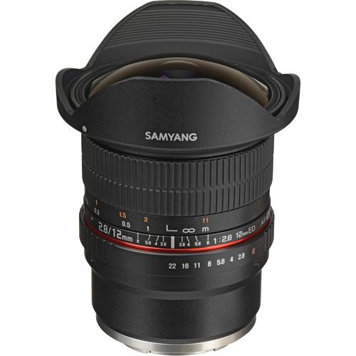 Samyang 12mm f/2.8 ED AS NCS Fisheye, baj. Sony E