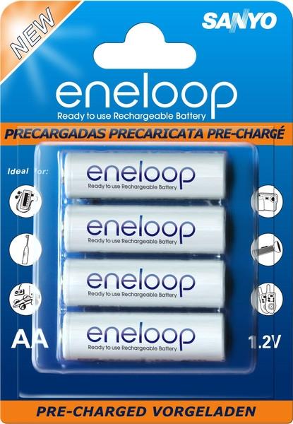 Sanyo Eneloop 4xAA 2000mAh, Sada 4ks nabíjateľných batérií