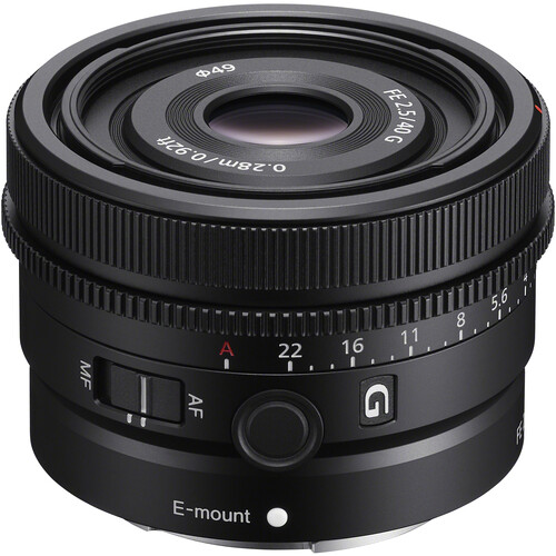 Sony FE 40 mm F2,5 G (Full Frame, E-Mount)